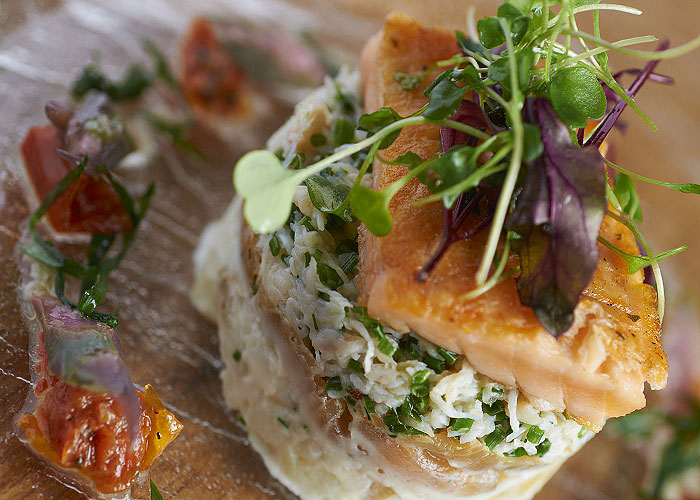 Wensleydale Heifer - Whitby Crab recipe