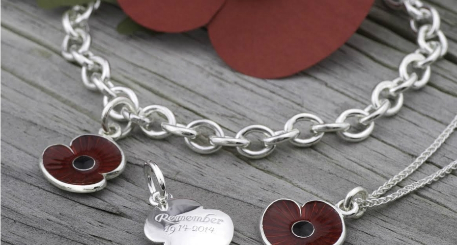 Brighton jeweller raises over £2,500 for the Royal British Legion with bespoke jewellery