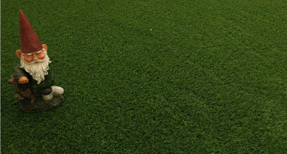 The 'green' benefits of an artificial lawn