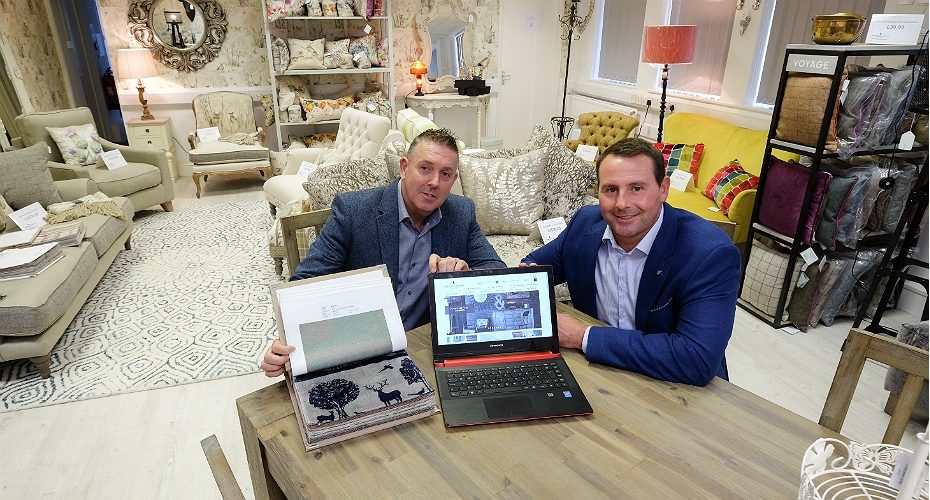 Online Fine Home Furnishing Retailer Opens Showroom