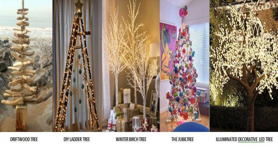 Celia Sawyer's Top 5 Alternative Christmas Trees for 2016