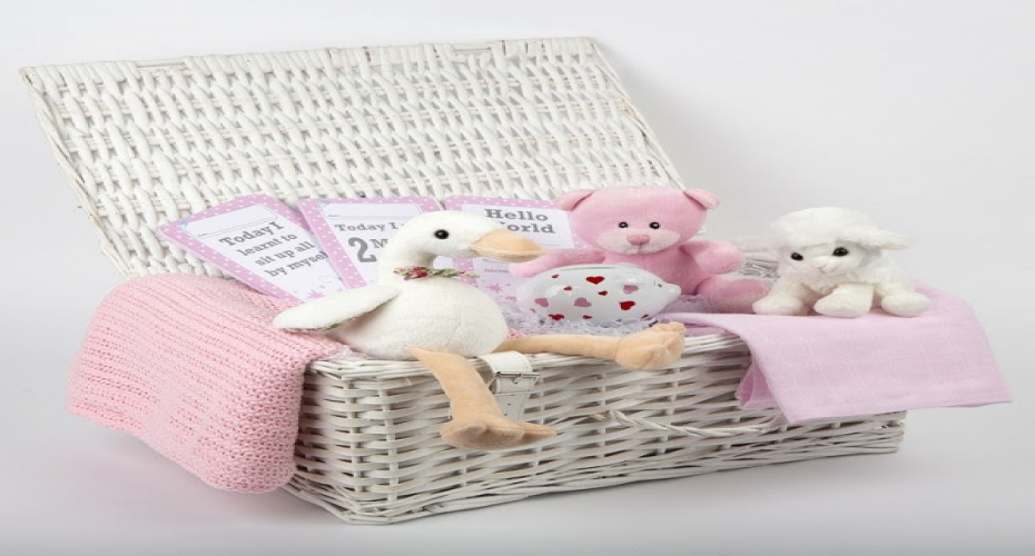 We Love: New Baby Girl Hamper