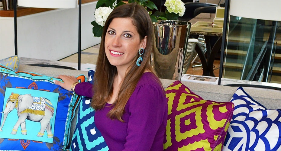 Home UK interviews luxury cushion company boss
