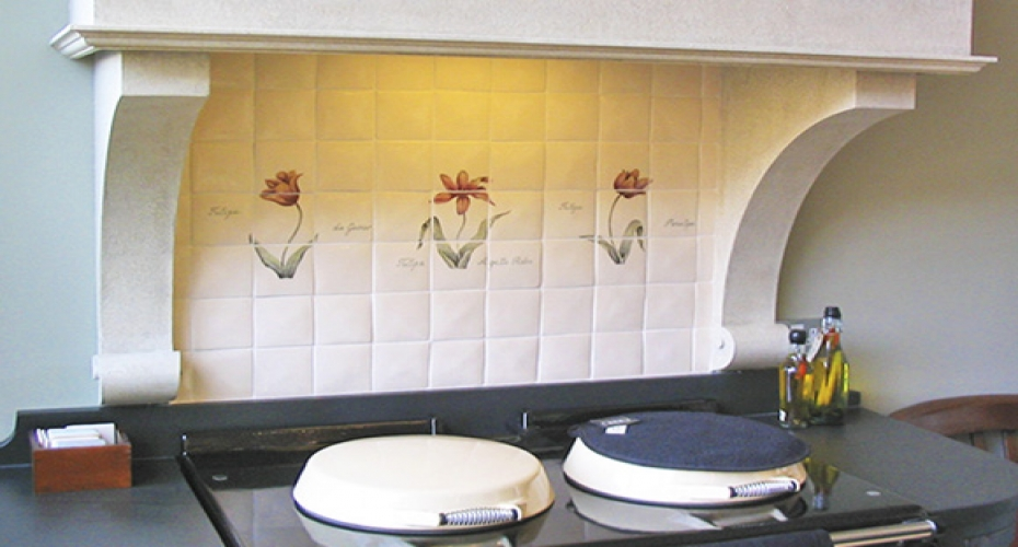 Tile your home creatively