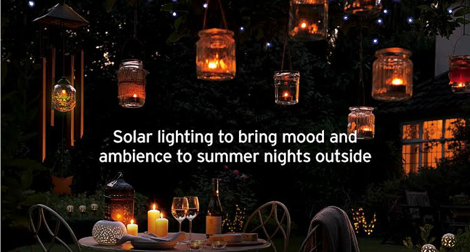 Enter our competition to win £100 of solar lighting!