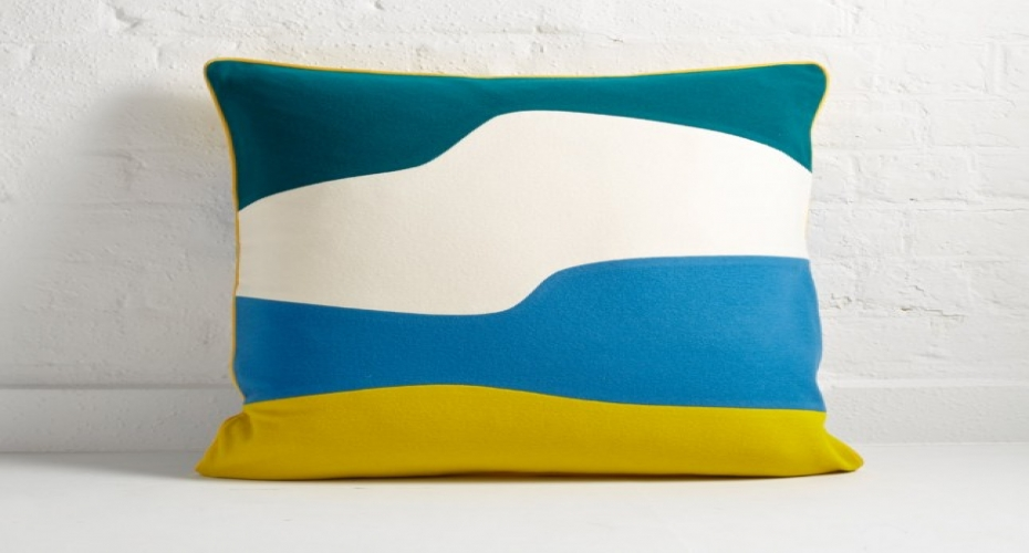 Iconic cushions inspired by coastal life