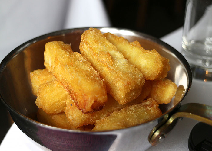 Wensleydale Heifer - Goose Fat Chips Recipe