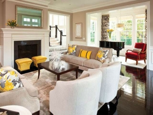 Budget-friendly living room makeover ideas